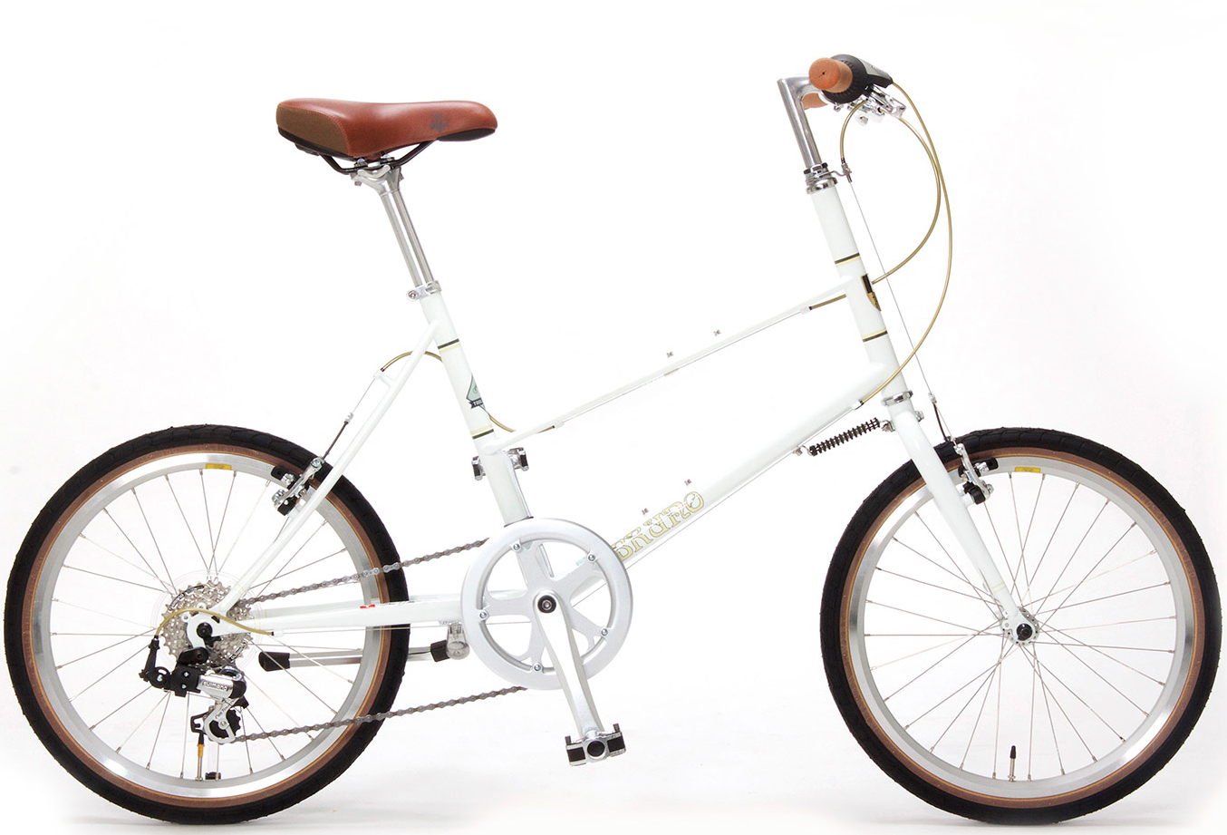 mixte white