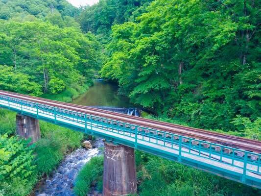 山田線と中津川