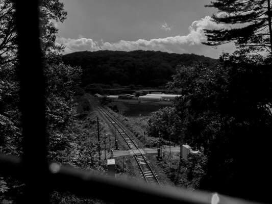高架橋から眺める山田線